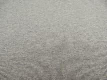 Grey ribbed cotton background Stock Photos