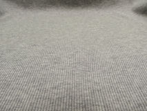 Grey ribbed cotton background Royalty Free Stock Photo
