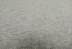 Grey ribbed cotton background Royalty Free Stock Photography