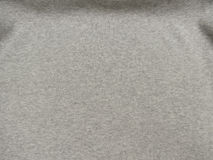 Grey ribbed cotton background Stock Images