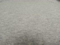 Grey ribbed cotton background Stock Photo