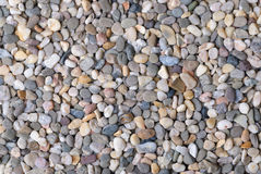 Grey river pebble background Stock Photo