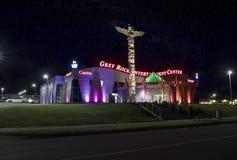 Grey Rock Casino, Edmundston Stock Photos