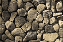 Grey Rock Wall Texture Fotos de Stock Royalty Free