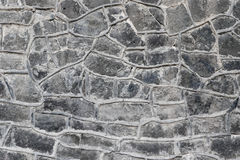 Grey Rock Wall Texture Photos libres de droits