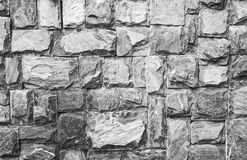Grey rock wall texture. Modern grey rock wall texture for decor Royalty Free Stock Photo