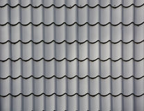 Grey Roof tiles Royalty Free Stock Photo