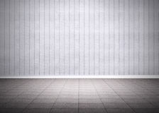Grey room Royalty Free Stock Photo
