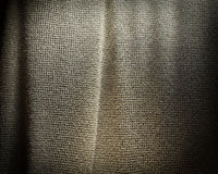 Grey sackcloth texture background. Soft fabric textile material. Royalty Free Stock Images