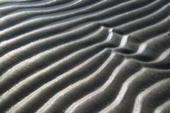 Grey sand pattern. Near the sea Stock Images