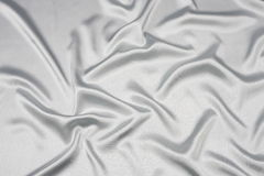 Grey satin background Stock Photo