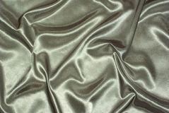 Grey satin background Royalty Free Stock Photo
