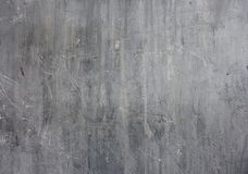 Grey scratched concrete wall royalty free stock images