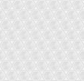 Grey Seamless Geometric Background Pattern d'argento Fotografia Stock Libera da Diritti