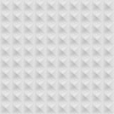 Grey Seamless Geometric Pattern blanc Photographie stock libre de droits