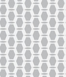Grey seamless geometric pattern. With simple shapes Stock Photo