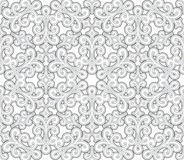 Grey seamless pattern Stock Images