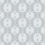Grey seamless pattern Royalty Free Stock Photo
