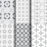 Grey Seamless Pattern Royalty Free Stock Image