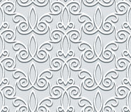 Grey seamless pattern Stock Image