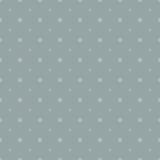 Grey seamless snowflake pattern Stock Images