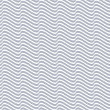 Grey seamless wavy line pattern Stock Photography