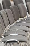 Grey seat Royalty Free Stock Images