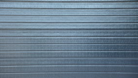 Grey security roller door background Stock Photography