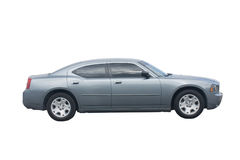 Grey sedan Royalty Free Stock Photo