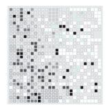 Grey set white black Square mosaic background. Grey white black Square mosaic background Royalty Free Stock Images