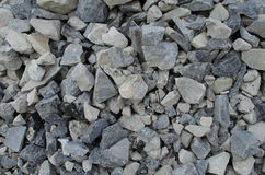 Grey sharp Stones background pattern Royalty Free Stock Photos