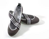 Grey shoe Stock Photos
