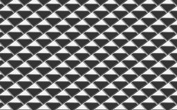 Grey and silver metallic triangles in an abstract background. Grey metallic triangle abstract background. elegant repeating pattern of triangles in 3D appearance Stock Photo