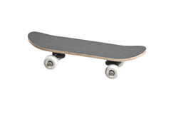 A grey skateboard Royalty Free Stock Images