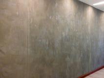 Grey skim coat wall in office Stock Photos