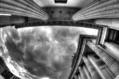 Grey Sky of Berlin, Germany Stock Image