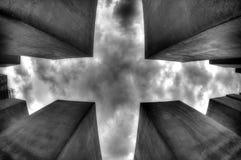 Grey Sky de Berlín, Alemania Fotos de archivo