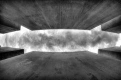 Grey Sky de Berlín, Alemania Fotografía de archivo