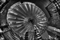Grey Sky de Berlín, Alemania Fotografía de archivo libre de regalías