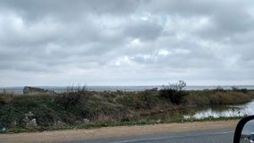 Grey sky stock photography