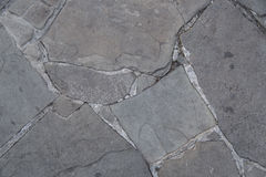 Grey Slate stone wall textured background Royalty Free Stock Images