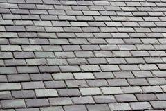 Grey Slate Tile Roof Royalty-vrije Stock Fotografie
