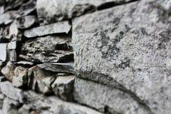 Grey slate wall backgroud Royalty Free Stock Photo