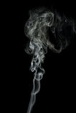 Grey smoke Royalty Free Stock Photo