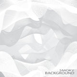 Grey smoky waves vector background . Can be used Royalty Free Stock Image