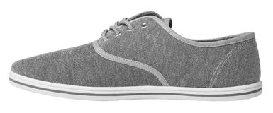 Grey sneaker isolated Stock Photo