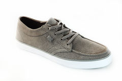 Grey sneakers Royalty Free Stock Image