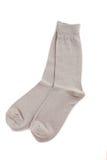 Grey socks Royalty Free Stock Photos