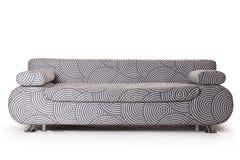 Grey sofa Royalty Free Stock Photos