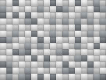 Grey square blocks Stock Image
